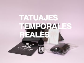 tatuajes temporales con aspecto real pack