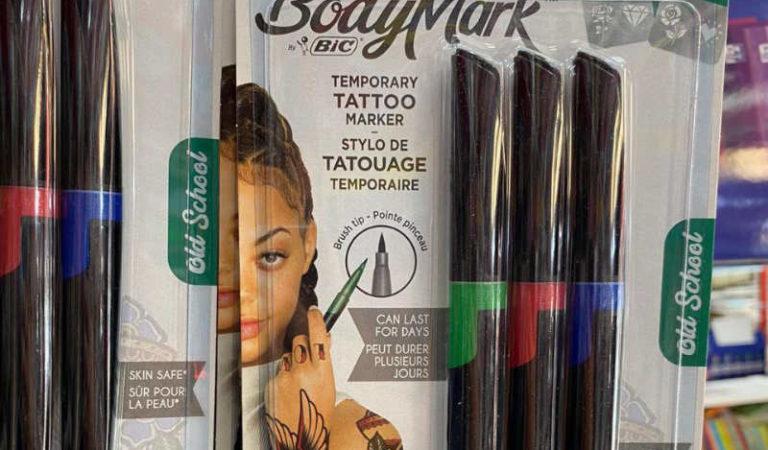 Mejores bolígrafos y rotuladores para pintar tatuajes en la Piel